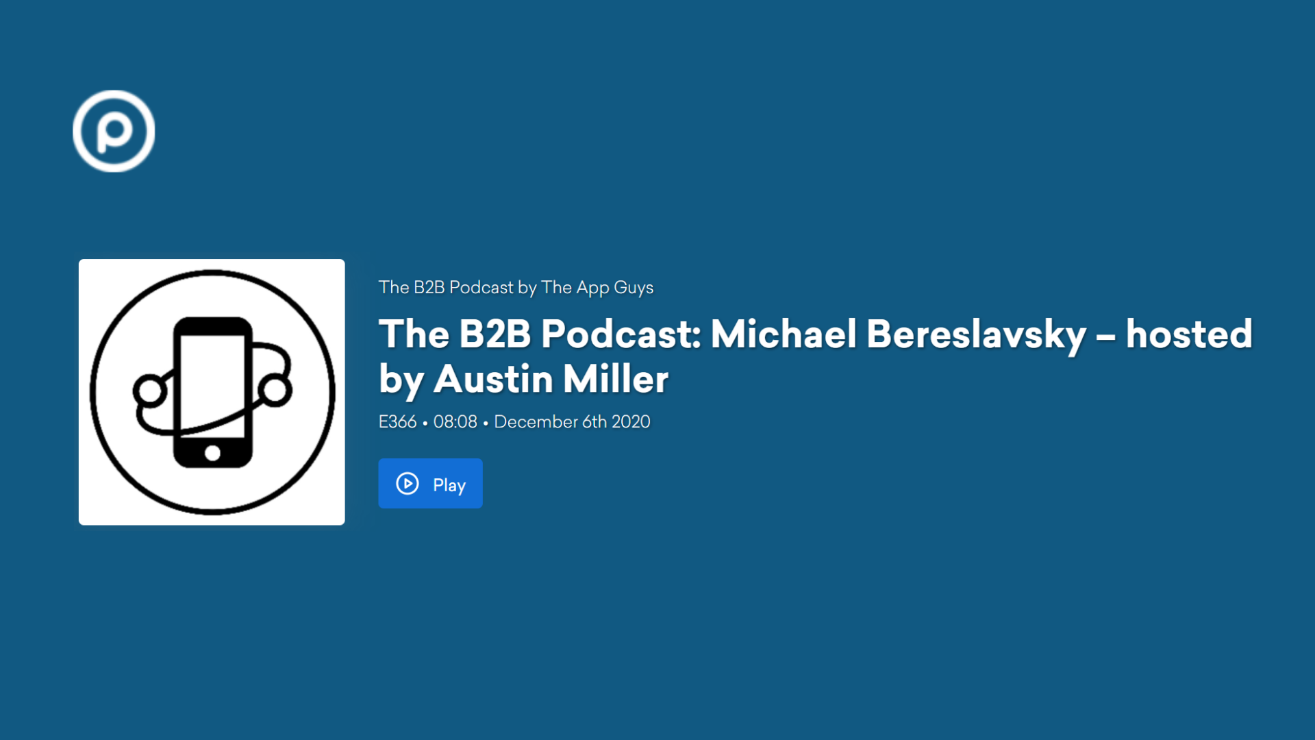The B2B Podcast_ Michael Bereslavsky